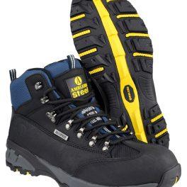 Amblers Black Waterproof Safety Boot FS161