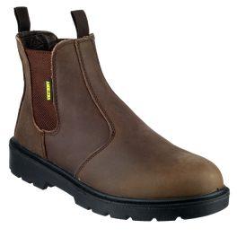 Amblers FS128 Brown Safety Dealer Boot