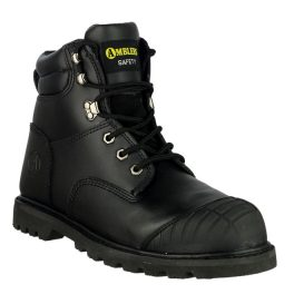 Amblers Black FS11 Safety Boot