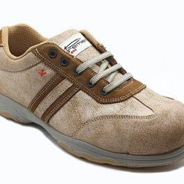P4775 Paride Metalfree Brown Low Shoe