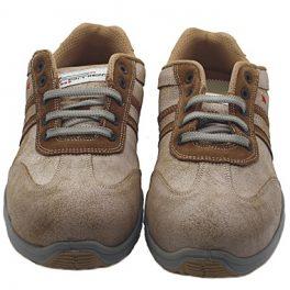 P4775 SIILI SAFETY S3 SRC - Paride Metal-Free Brown Low Shoe-5810