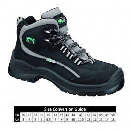 A9726 SIILI SAFETY S3 STORM Mondopoint Black Safety Boot-7613