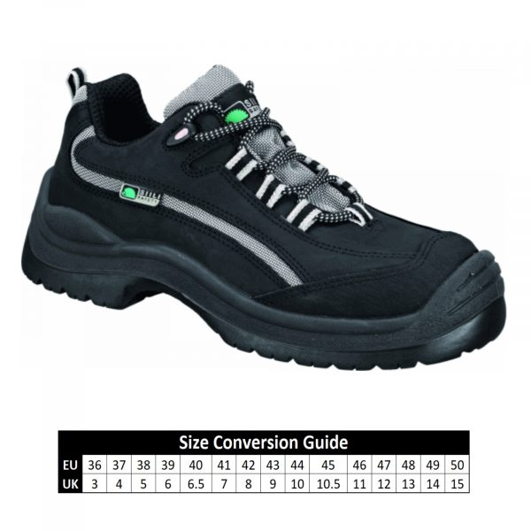 A9727 SIILI Mondopoint Black Safety Shoe-7614