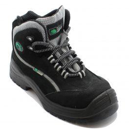 A9726 Mondopoint Black Safety Hiker Boot