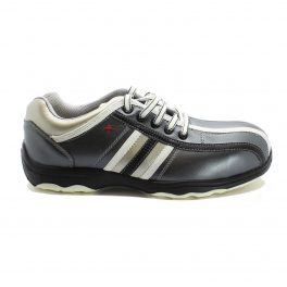 P4671 SIILI SAFETY S1P SRC- Achille Metal-free Grey/Black Low Shoe-8164