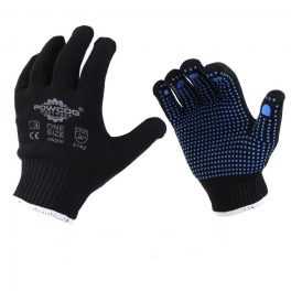 Black Gripper Gloves