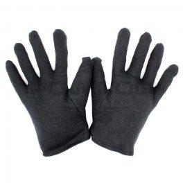 Black Cotton Glove Liner