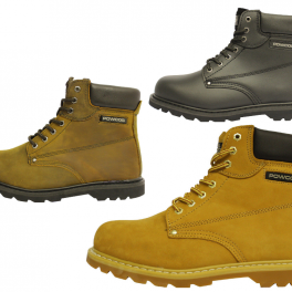 Steel Toe Goodyear Welted Safety Boots