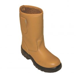 Tan Lined Rigger Boot