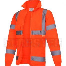 Hi Viz Zipped Fleece Jackets-6983