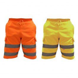 Hi Viz Combat Work Shorts