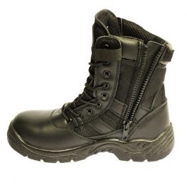 Black Combat Safety Boot-6922