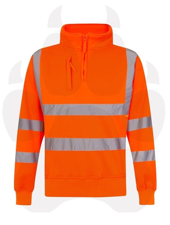 Hi Viz Orange Workwear-7163