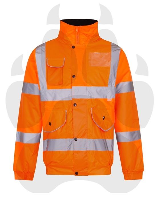 Hi Viz Orange Workwear-7159