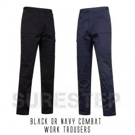 Black or Navy Work trousers