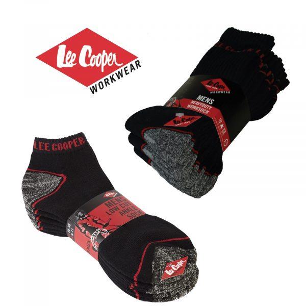 Lee Cooper Work Socks (5PK)-0