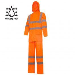 Hi-Viz Orange rain suit