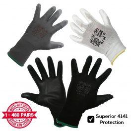 PU Coated Work Gloves-0