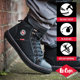 Lee Cooper Retro Safety Boot-7899