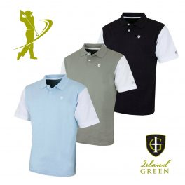 Island Green IGTS1646 Mens Golf Polo Shirt -0