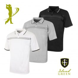 Island Green IGTS1651 Mens Golf Polo Shirt -0