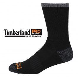 Timberland Pro Black Socks TB120645TA Pack of 2 Pairs-0