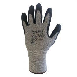 Cut Level 5 Grey/Black Glove-9017