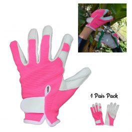 Pink Gardening Glove - 1 Pair Pack-0