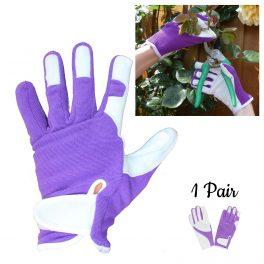 Purple Gardening Glove - 1 Pair Pack-0