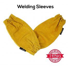 Leather Welding Sleeves - Pair-0