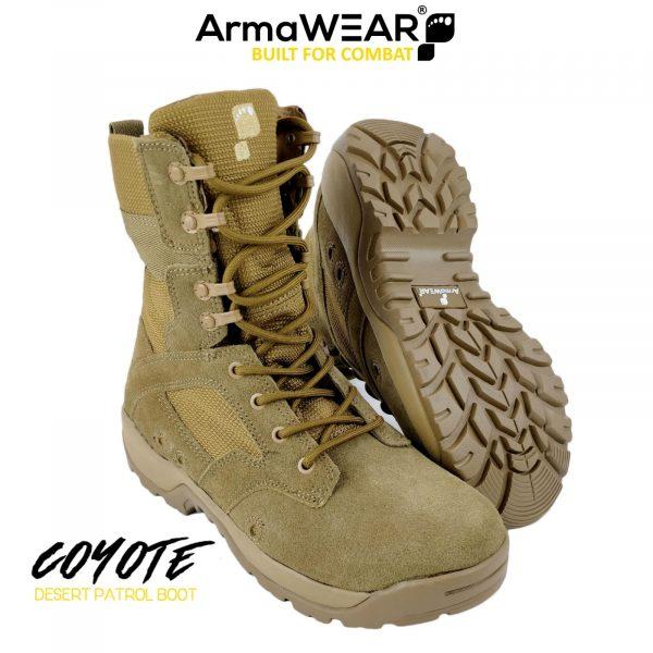 ArmaWEAR COYOTE Desert Patrol Boot-0