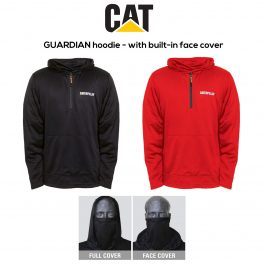 Caterpillar 1910057 GUARDIAN Hoody with face cover-0