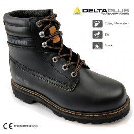REDWOOD LH640SM Black safety Boot-0