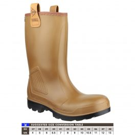 RIG AIR C462743FL Lined Rigger Wellie-0