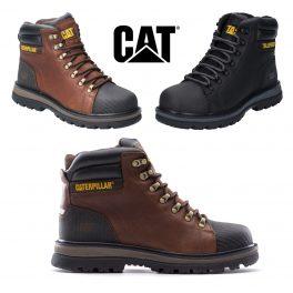 CAT FOXFIELD Safety Boot OAK-0