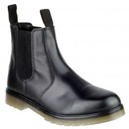 COLCHESTER - Black Chelsea Boot-0