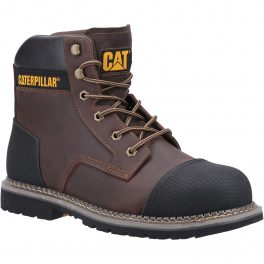 POWERPLANT S3 Safety Boot with Scuff-Cap-0
